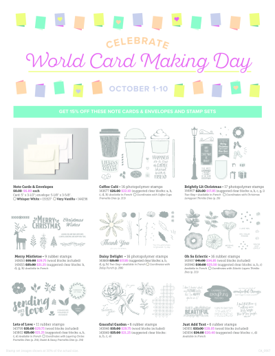 World card  making image